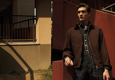 19/20 A/W Silhouette Trend for Menswear -- Business Casual Jacket