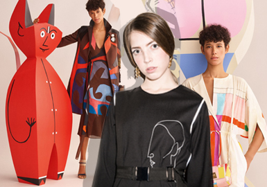 19/20 A/W Womenswear Pattern Trend Forecast -- Picasso'a Art