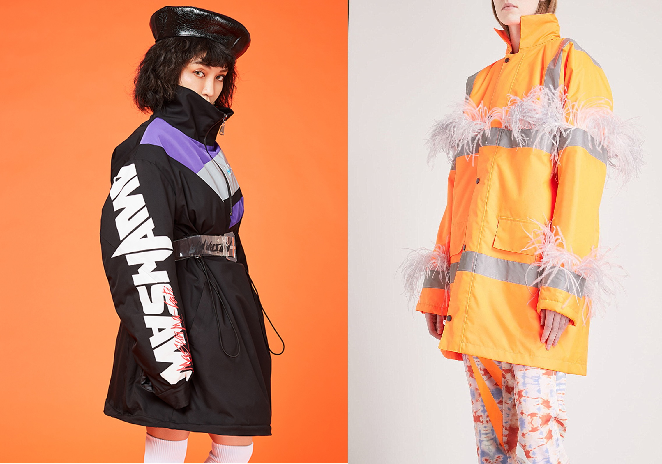 18/19 A/W Women's Down Jacket -- Colorful Fabric