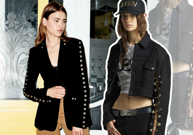 19/20 A/W Womenswear Accessory Trend -- Metal Hardware