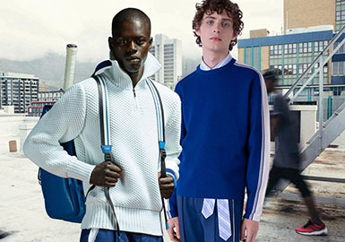 19/20 A/W Men's Knitwear -- Business Athleisure