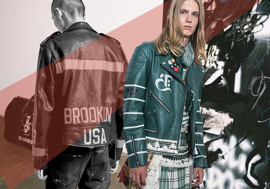 2019 S/S Men's Leather Jacket -- Pattern & Craft