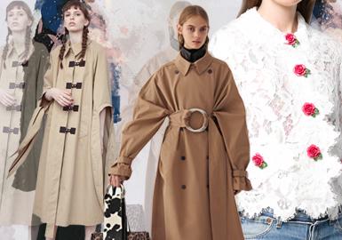 Decorative Fastening -- 19/20 A/W Womenswear