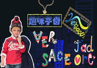 Playful Letter -- 19/20 A/W Pattern for Kidswear