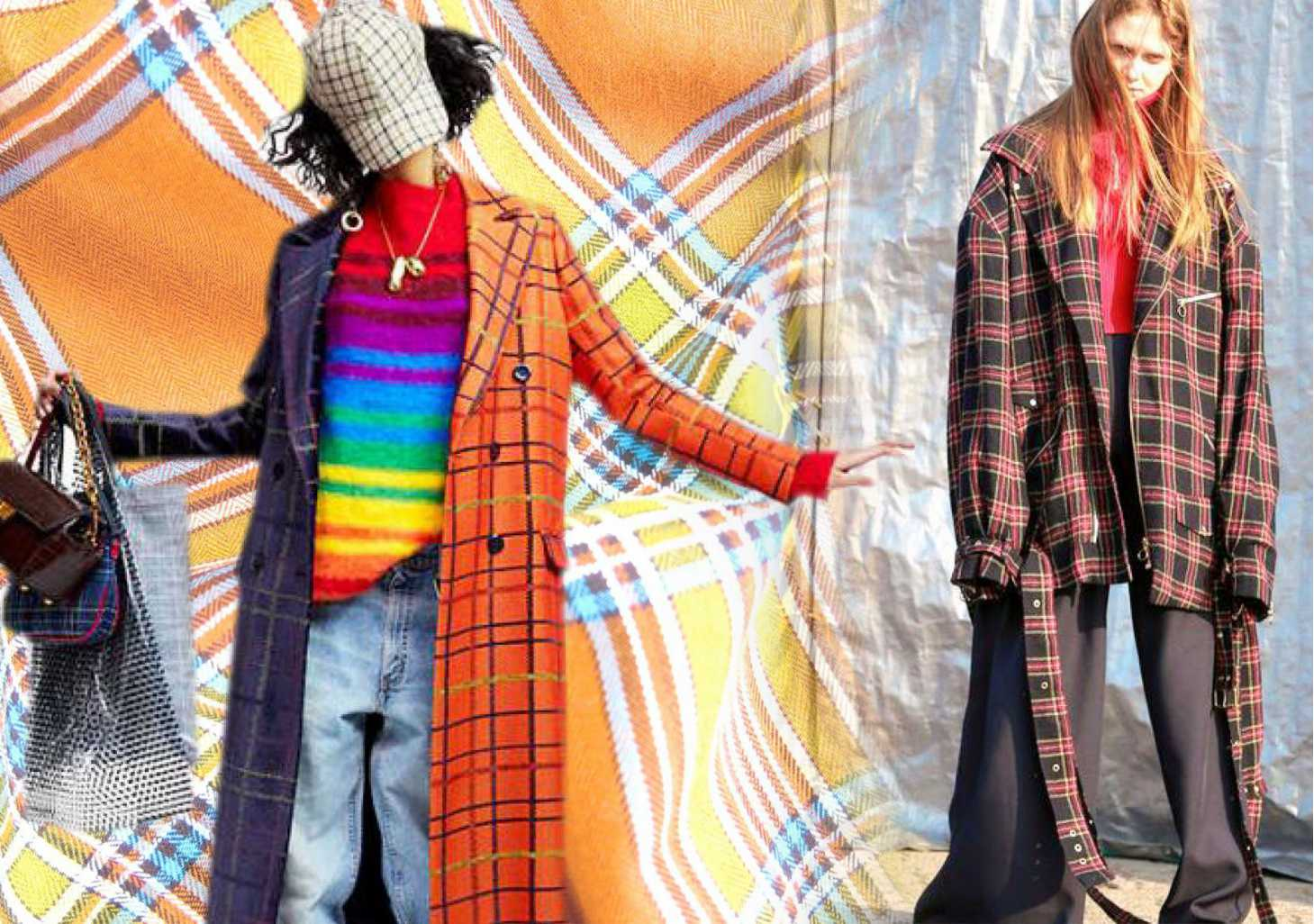 19/20 A/W Womenswear Fabric Trend -- Colorful Check