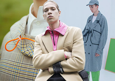 Collar & Front Closings -- S/S 2019 Detail Analysis for Menswear at Trunk Shows