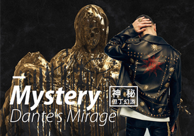 Mystery ▪ Dante's Mirage -- 19/20 A/W Design Development of Men's Color