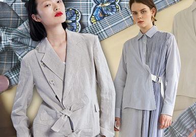 Placket -- 2020 S/S Details of Womenswear