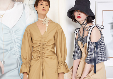 Soft Shirring -- 2020 S/S Details of Womenswear