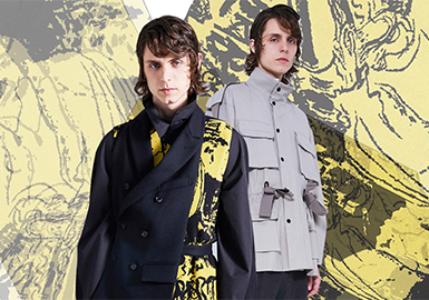 Croquis -- Pre-Fall 2018 Menswear Benchmark Brand