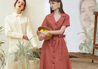Plain Style -- 2020 S/S Detail of Women's Cotton & Linen Apparel