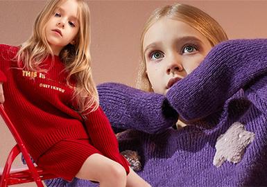 Girls' Knitwear -- 18/19 A/W Kidswear Benchmark Brand