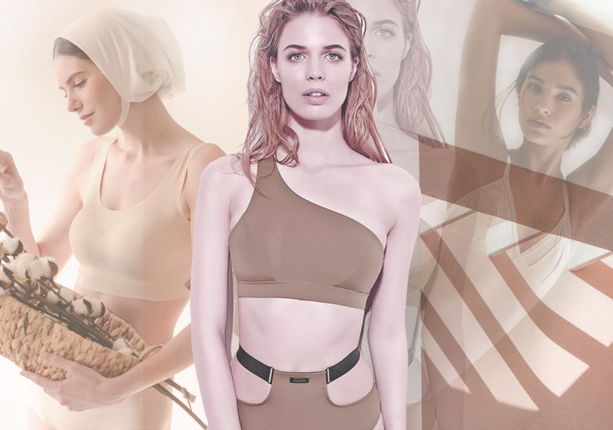 Athleisure Bra -- 2020 S/S Silhouette Trend for Underwear