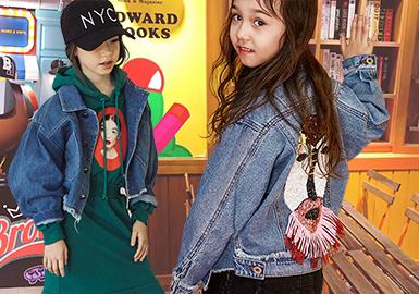 Novel Style -- 18/19 A/W Girls' Denim Apparel in Market