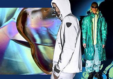 Creativity -- 2020 S/S Material Trend for Men's Coat