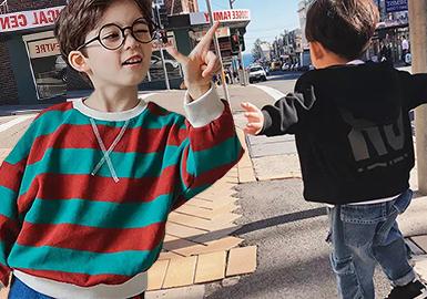 18/19 A/W South Korean Wholesale Market Analysis for Boys' Wear
