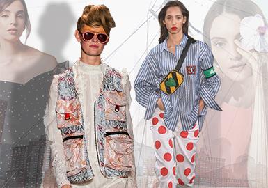 Key Styles -- 2019 S/S Womenswear on New York Catwalk