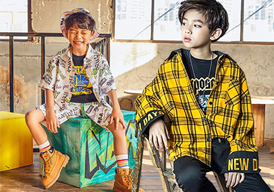 Shirt -- 2020 S/S Silhouette Trend for Boys' Top