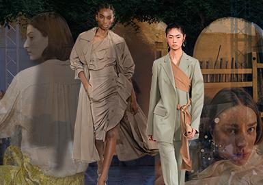 Female Power -- 2019 S/S Womenswear on Catwalks