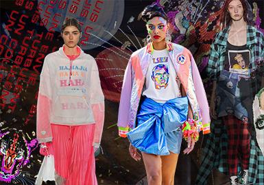 New Fashion -- 2019 S/S Pattern Trend on Women's Catwalk