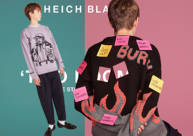 Heich Blade -- 18/19 A/W South Korean Designer Brand for Men's Knitwear