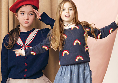 Warm & Sweet -- 19/20 A/W Girls' Knitwear