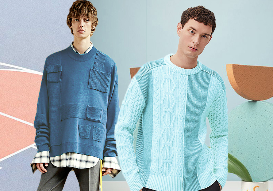 Pastel Colors -- 2020 S/S Color Trend for Men's Knitwear