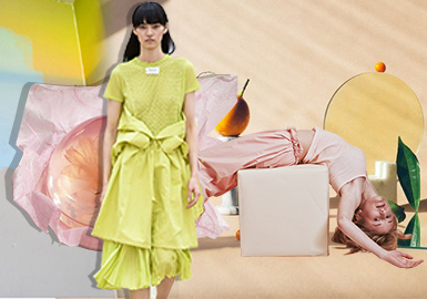 Emotion & Love -- 2019 S/S Color Trend Confirmation for Womenswear