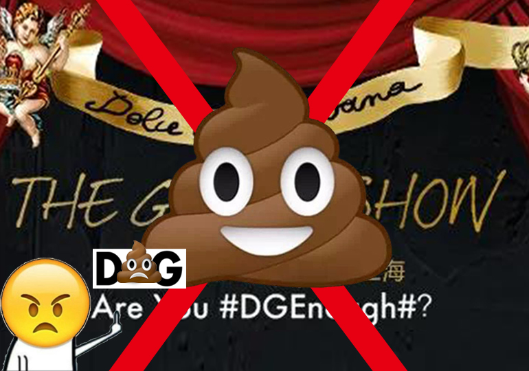 Dolce & Gabbana is Boycotted in China