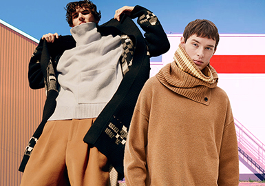 System Homme -- 18/19 A/W Benchmark Brand for Men's Knitwear