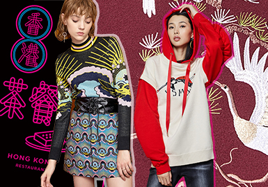 Chinese Style -- 19/20 A/W Pattern Trend for Women's Knitwear