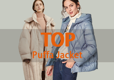 Puffa -- 18/19 A/W Women's Hot Item in Market