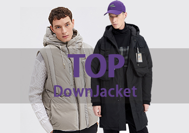 Down Coat -- 18/19 A/W Men's Hot Item in Market