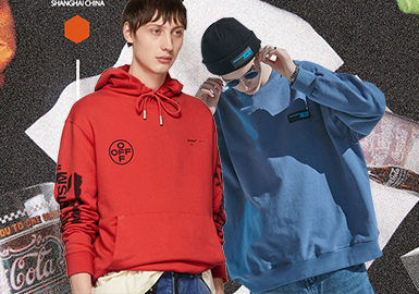 Loose & Stylish Sweatshirt -- 19/20 A/W Silhouette Trend for Menswear