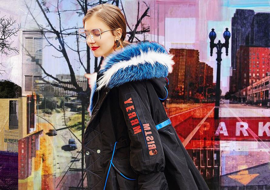 Popular Parka -- 18/19 A/W Womenswear in Xinji Fur & Leather Market