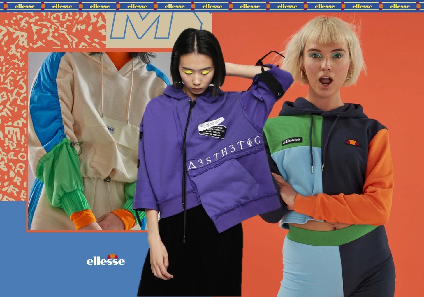 Creative Piecing -- 18/19 A/W Key Detail for Women's Sweatshirt