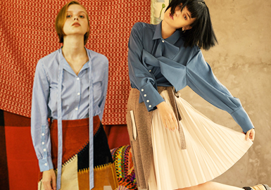 Unconventional Shirt -- 2019 S/S Womenswear Designer Brand