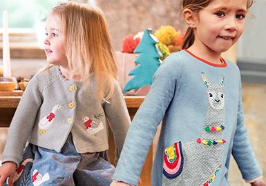 Happy Zoo -- 19/20 A/W Pattern & Technique Trend for Kidswear
