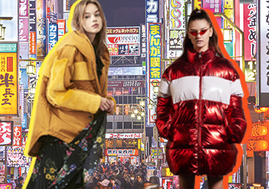 Puffer Coat -- 18/19 A/W Women's Item in Japanese Market