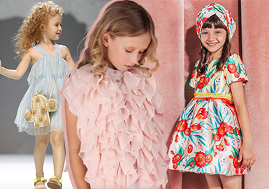 Dress -- 2020 S/S Silhouette Trend for Girls' Apparel