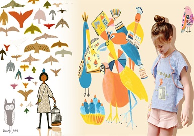 Flying Bird -- 2020 S/S Pattern Trend for Kidswear