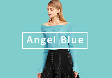 Angel Blue -- 2020 S/S Color Trend for Women's Knitwear