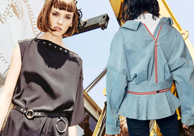 Metal Hardware -- 2020 S/S Accessory Trend for Womenswear