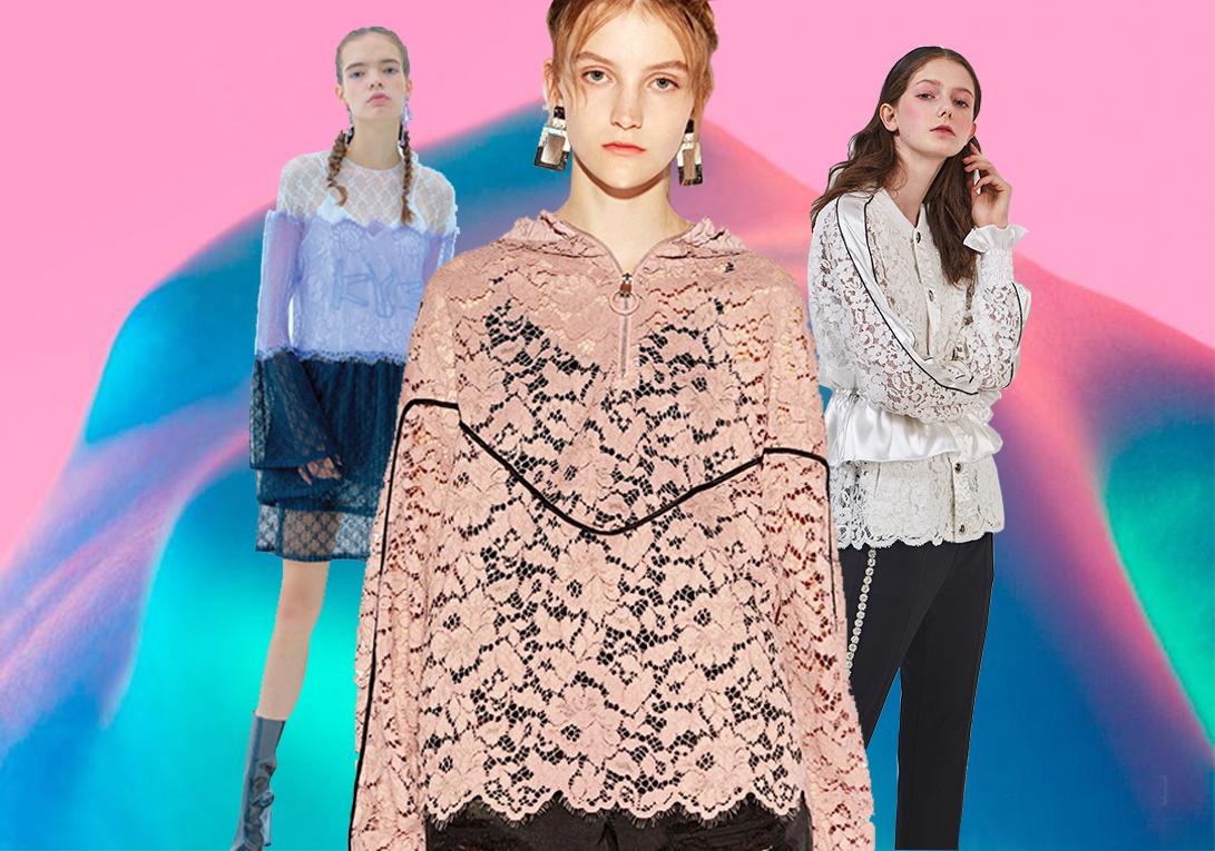 Elegant & Funky -- 2020 S/S Women's Lace Fabric