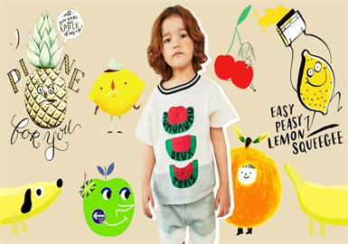 Sweet Fruit -- 2020 S/S Pattern Trend for Kidswear