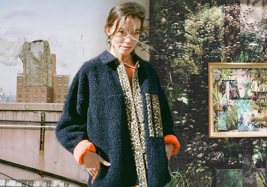 Leopard-print Paneling -- 19/20 A/W Women's Fur Trend