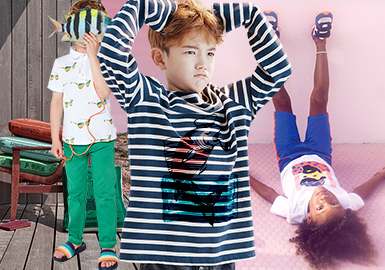 Vivid Summer -- 2020 S/S Clothing Collocation of Boys' T-shirt
