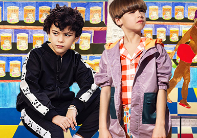 Boys's Coat -- 2020 S/S Silhouette Trend for kidswear