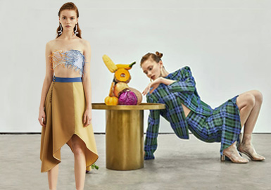 INÈS LUO -- 2019 S/S Analysis of Designer Brand of Womenswear