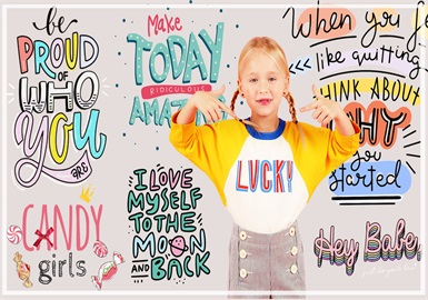 Kids' Statements -- 2020 Pre-fall Pattern Trend of Girls' Wear